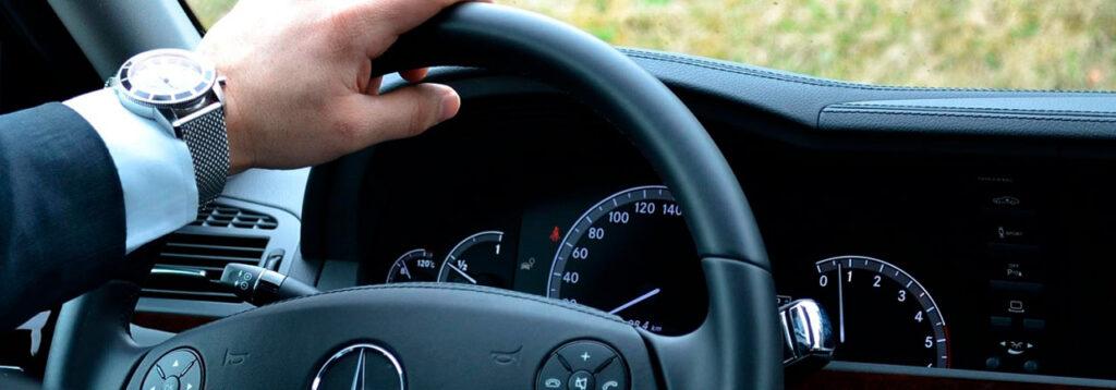 Аренда авто с водителем на день